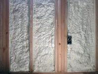 Spray foam Insulation for wall fill